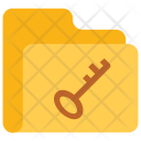Key Folder Data Icon