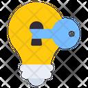 Key Idea Creative Innovation Icon