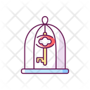 Key In Cage Icon