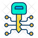 Key Link Decryption Encryption Icon