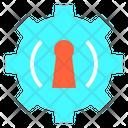 Gear Hold Key Icon