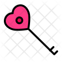Key Love Romance Icon