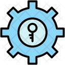 Key Keyword Optimization Icon