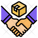 Key Partners Partner Negotiate Icon