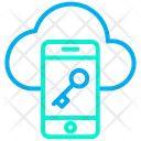 Cloud Phone Smart Phone Icon