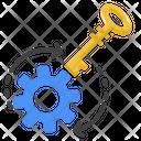 Skills Key Point Solving Icon