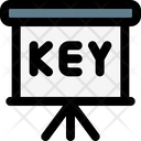 Key Presentation Icon