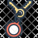Key Ring Icon