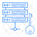 Server Key Mainframe Icon