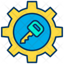 Key Setting Optimization Safety Icon
