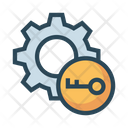 Key Lock Protection Icon