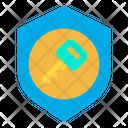 Key Shield Insurance Key Icon
