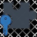 Solution Key Puzzle Icon