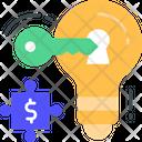 Key Solution Key Success Solution Icon