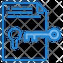 Key Success Secure File Lock File Icon