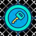 Key Target Icon
