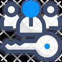 Key Team Agile Team Core Team Icon