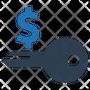 Key Key To Success Money Icon