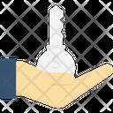 Oncept Creativity Hand Icon