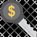 Key Success Dollar Icon