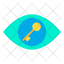 Key Lock View Icon