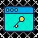 Key Web Icon