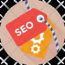 Seo Keywording Tag Icon