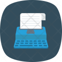 Keyboard Paper Type Icon
