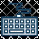 Keyboard Wire Keyboard Computer Hardware Icon