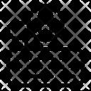 Worlwide Earth Grid World Grid Icon