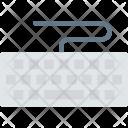Keyboard Typewriter Text Icon