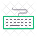 Keyboard Typing Computer Icon