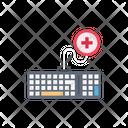 Keyboard Computer Medical Icon