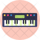 Music Keyboard Instrument Icon