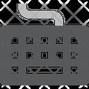 Keyboard Hardware Device Icon