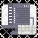 Keyboard Website Webpage Icon