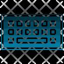 Keyboard Social Messaging Icon