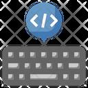 Keyboard Code Icon
