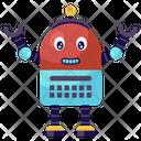 Keyboard Robot Icon