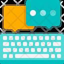 Keyboard Typing Icon
