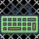Keyborad Clavier Fingerboard Icon