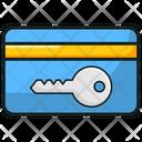 Keycard Entry Card Access Icon