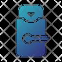 Door Key Keycard Icon