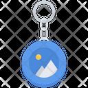 Keychain Design Advertising Icon
