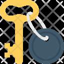 Key Keychain Keyring Icon