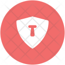 Keyhole Shield Security Icon