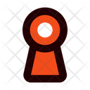 Keyhole Security Key Icon