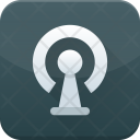 Keyhole Lock Safe Icon
