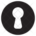 Keyhole Security Privacy Icon