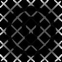 Keyhole Hole Security Icon